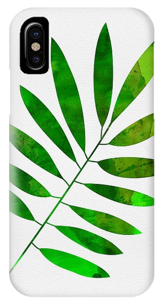Leaf iPhone Case - Lonely Leaf by Naxart Studio