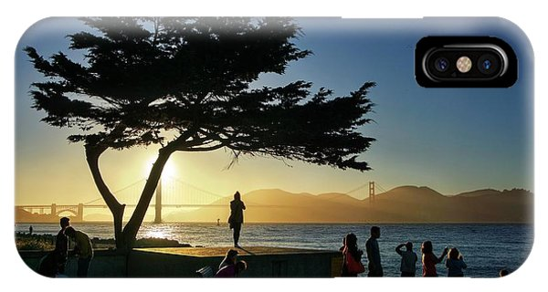 IPhone Case featuring the photograph Lonely Tree At Crissy Field by Quality HDR Photography