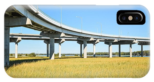 Long Concrete Bridge  IPhone Case