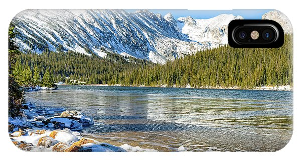 Indian Peaks Wilderness iPhone Case - Long Lake by Eric Glaser