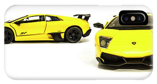 Auto Show iPhone Case - Long Lambo Lineup  by Jorgo Photography - Wall Art Gallery