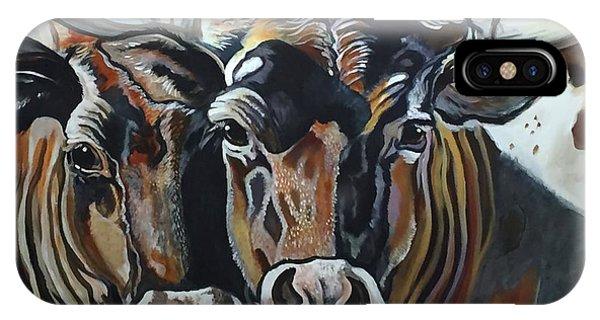 Longhorns, Interrupted IPhone Case
