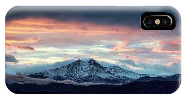 Longs Peak At Sunset IPhone Case