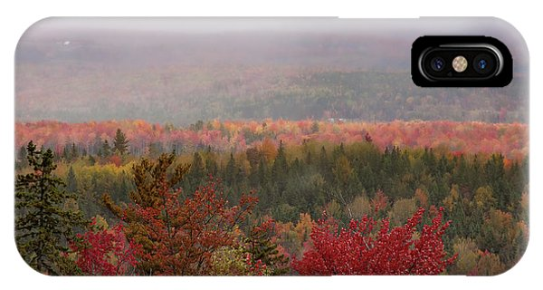 Looking Across Autumn Hills IPhone Case