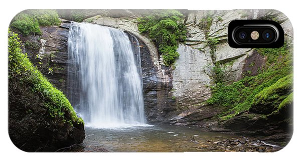 Looking Glass Falls In North Carolina 1 IPhone Case
