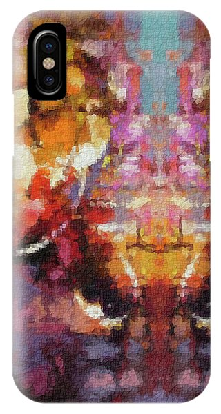 She iPhone Case - Lost Among Us by Rani S Manik
