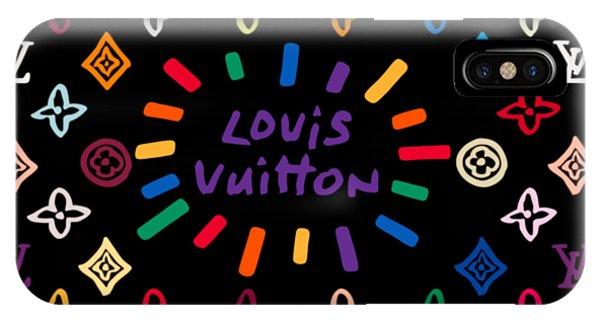 Lgbt iPhone Case - Louis Vuitton Monogram-11 by Nikita