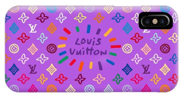 Lgbt iPhone Case - Louis Vuitton Monogram-5 by Nikita