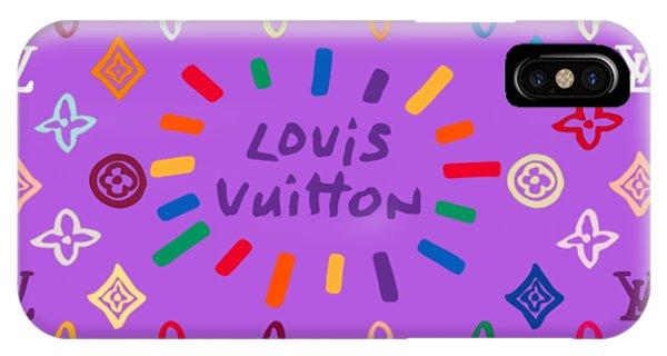 Lgbt iPhone Case - Louis Vuitton Monogram-8 by Nikita