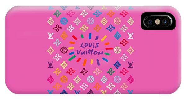 Lgbt iPhone Case - Louis Vuitton Monogram-9 by Nikita