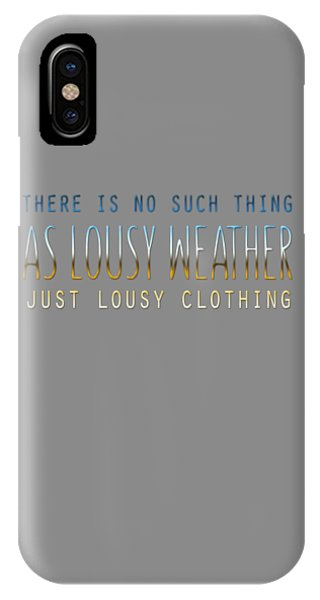 Lousy Clothing IPhone Case