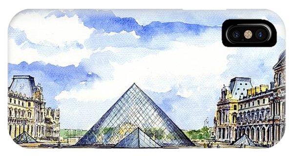 The Louvre iPhone Case - Louvre Museum by ArtMarketJapan