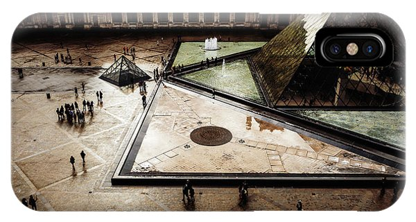 The Louvre iPhone Case - Louvre by Miles Whittingham
