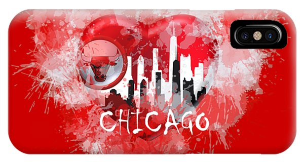 Love Chicago Colors IPhone Case