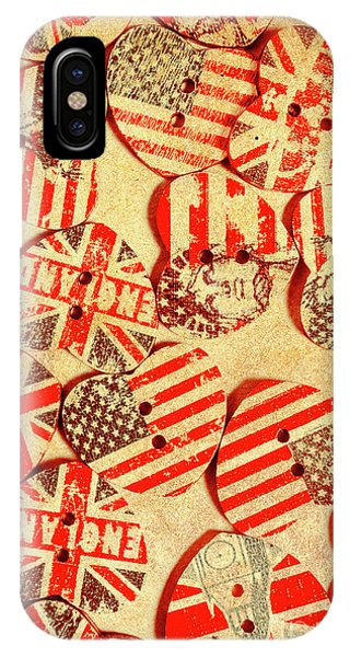 Stars And Stripes iPhone Case - Love Of The Heartland by Jorgo Photography - Wall Art Gallery