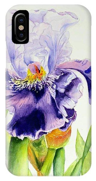 Lovely Iris IPhone Case