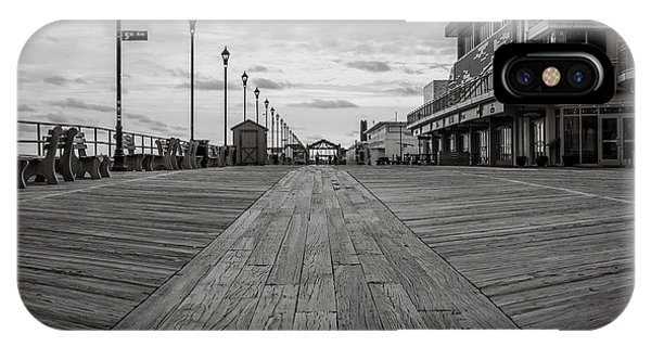 IPhone Case featuring the photograph Low On The Boardwalk by Steve Stanger