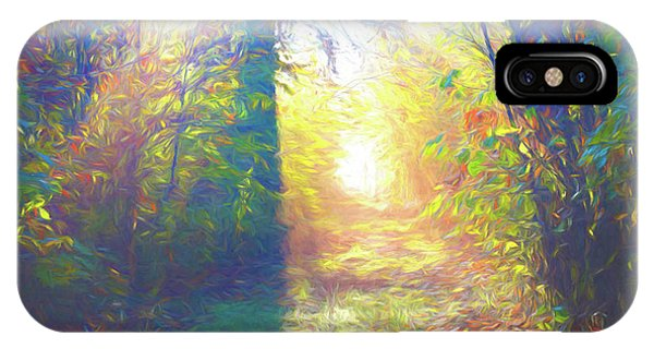 IPhone Case featuring the digital art Lower Sabie by Jeff Iverson