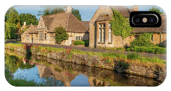 Lower Slaughter And The River Eye Phone Case by David Ross