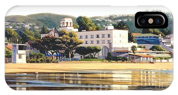 Laguna Beach iPhone Case - Lowtide Laguna by Frank Dalton