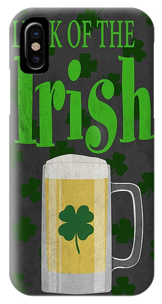 Irish iPhone Case - Luck Of The Irish (beer) I by Sd Graphics Studio