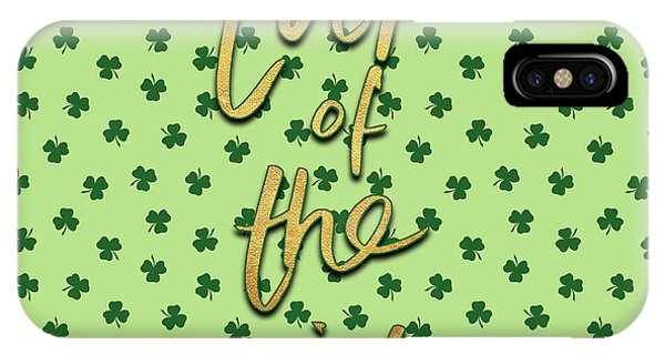 Irish iPhone Case - Luck Of The Irish II by Sd Graphics Studio