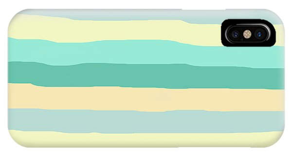 lumpy or bumpy lines abstract and summer colorful - QAB271 IPhone Case