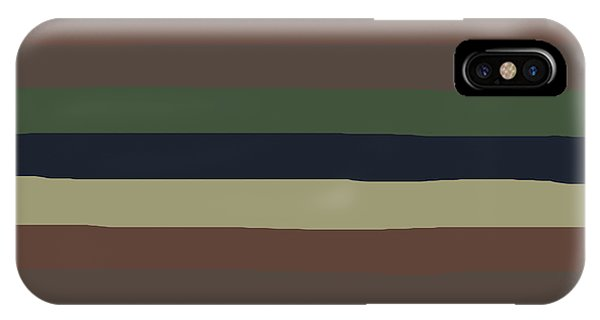 Army Color Style Lumpy Or Bumpy Lines - Qab279 IPhone Case