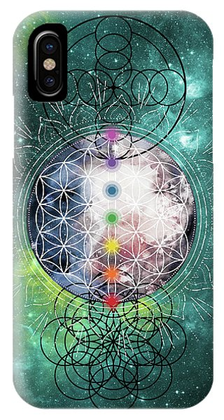IPhone Case featuring the digital art Lunar Mysteries by Bee-Bee Deigner