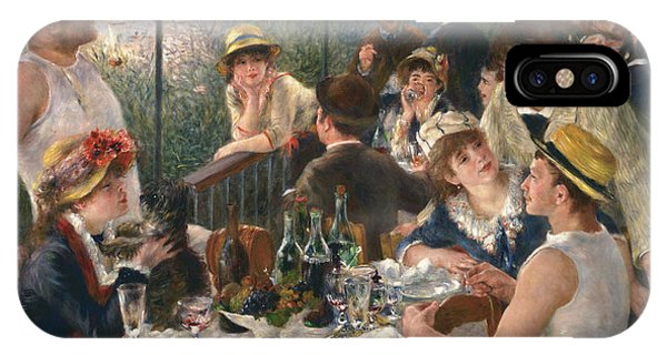 French Impressionism iPhone Case - Luncheon Of The Boating Party, 1880-1881 by Auguste Renoir