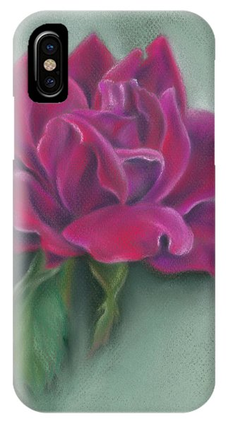 Lush Red Rose IPhone Case