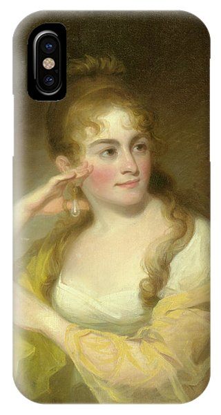 Portrait Of Lydia Leaming, 1806 IPhone Case