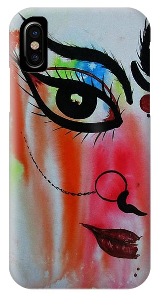 Ma Durga-5 IPhone Case
