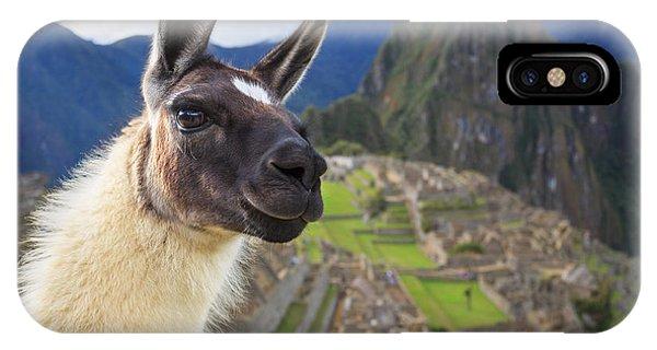 Travel Destination iPhone Case - Machu Picchu, Peru, Unesco World by Sunsinger