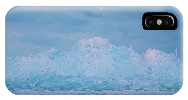 Mackinaw City Ice Formations 2161802 IPhone Case