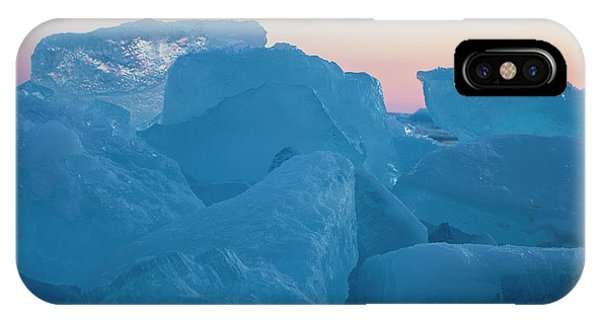 Mackinaw City Ice Formations 2161804 IPhone Case