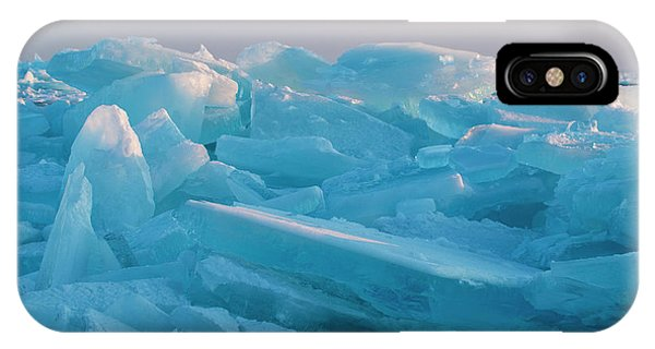Mackinaw City Ice Formations 2161807 IPhone Case