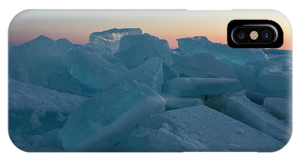 Mackinaw City Ice Formations 2161808 IPhone Case