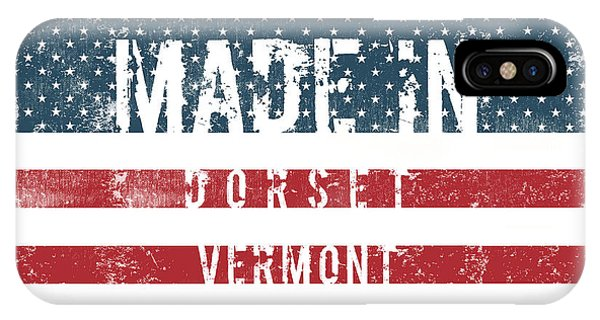 Dorset iPhone Case - Made In Dorset, Vermont #dorset #vermont by TintoDesigns