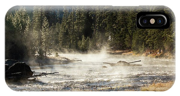 Madison River Morning IPhone Case