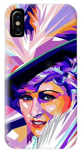 Mae West Pop Art IPhone Case
