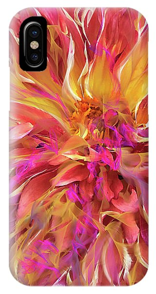Magenta Sunshine IPhone Case