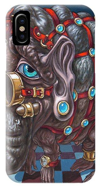 Magical Many-eyed Elephant IPhone Case