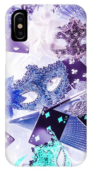 Magician iPhone X Case - Magical Masquerade by Jorgo Photography - Wall Art Gallery
