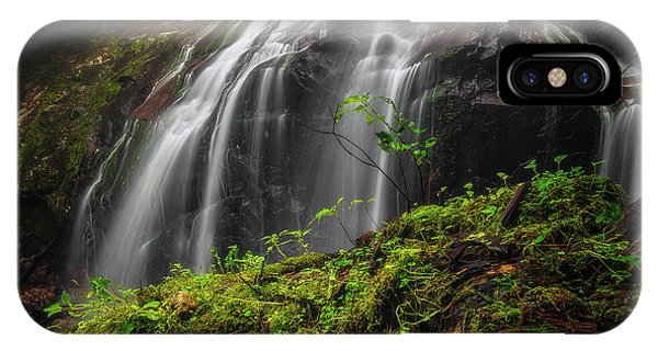 Magical Mystical Mossy Waterfall IPhone Case