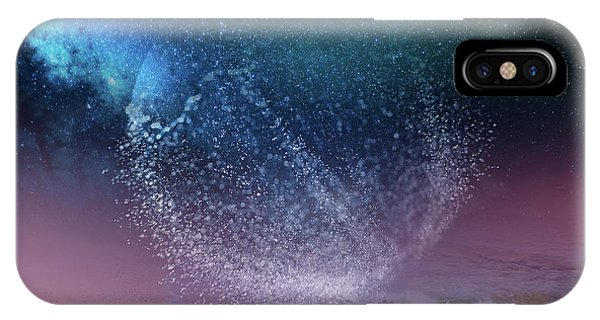 Magical Night Moment By The Seashore In Dreamland 3 IPhone Case