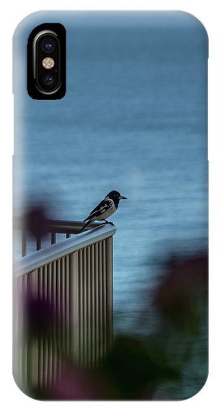 Magpie Bird IPhone Case