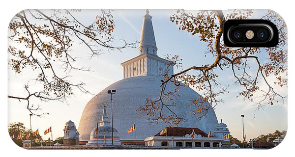 Old Building iPhone Case - Mahatupa Big Dagoba In Anuradhapura At by Honza Hruby