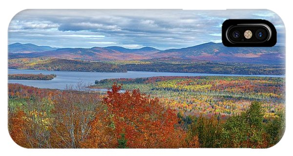 Maine Fall Colors IPhone Case