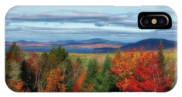 Maine Fall Foliage IPhone Case